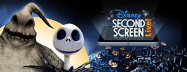 Tim Burton's The Nightmare Before Christmas Second Screen Live « Disney D23 | Televisión Social y transmedia | Scoop.it