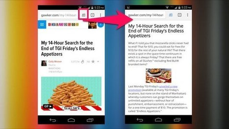 """Enable the New Hidden """"Reader"""" Mode in Chrome for Android 