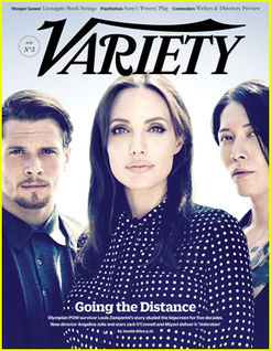 Angelina Jolie Takes the Spotlight on 'Variety' Cover | Le cinéma, d'où qu'il soit. | Scoop.it