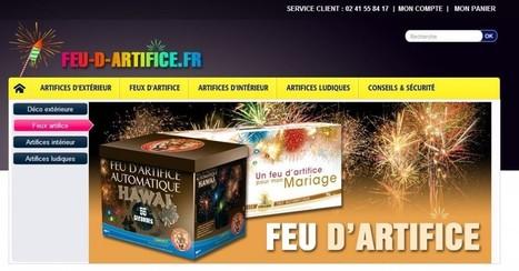 Feu-d-artifice.fr, votre site dédié aux feux d'artifice et autre artifices de fête ! | Deguisement-de-fete.com | Idée de Fête | Scoop.it