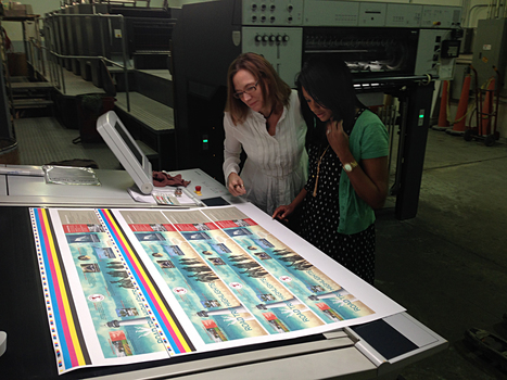 What better way to meet the new communications director than on press with our latest project for Mississippi Center for Justice? | Flynn Design | Scoop.it