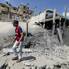 Israeli Airstrikes Kill 10 in Gaza | Human Rights and the Will to be free | Scoop.it