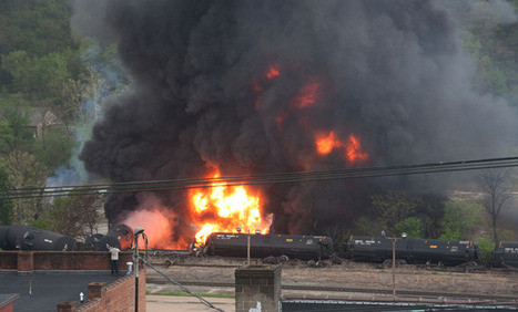 Less Than 24 Hours After Virginia Oil Train Spill, Same Company Derails Again In Maryland | Oil Spill Watch | Scoop.it