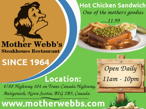 Best Family Restaurant in Antigonish | motherwebbs | Scoop.it