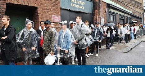 Kanye West fans queue for hours to get into Life of Pablo pop-up shop | Retailtainment | Scoop.it