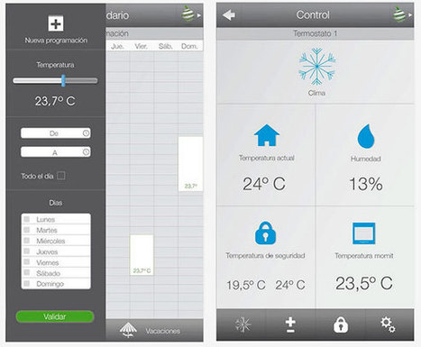 Momit ST, le thermostat intelligent - News Domotiques by Domadoo | Divers infos | Scoop.it