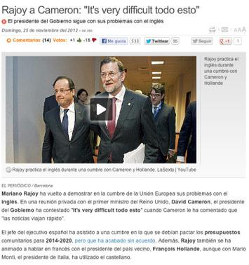 Carta a Mariano Rajoy. It's very difficult todoesto | Partido Popular, una visión crítica | Scoop.it