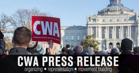 CWA & IBEW Leaders at Verizon Announce Plan to Stay on the Job & Continue Fight for a Fair Contract | CWA-Union.org | Surfing the Broadband Bit Stream | Scoop.it