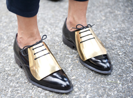 Fashion Week Street Style 2013: By Day 5, It's All About The Flats (PHOTOS) - Huffington Post   Fashion Jewelry   Scoop.it