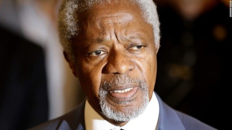 Kofi Annan: Leaders in Davos must act now to confront global issues - CNN.com | Sustain Our Earth | Scoop.it
