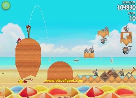 Des niveaux secrets dans Angry Birds RIO - Place4geek   Angry Birds   Scoop.it