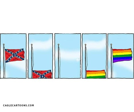 The cartoon that sums up a truly incredible week in US history | Gavagai | Scoop.it