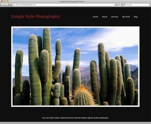 5 WordPress Themes For Creating Professional Photography Blog | ProTechGeek