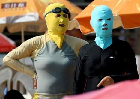 La mode du face-kini séduit les Chinois depuis 10 ans | Merveilles - Marvels | Scoop.it
