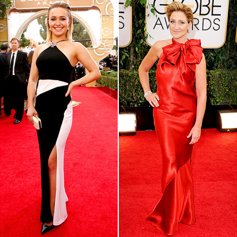 Hayden Panettiere and Edie Falco bought off-the-rack dresses for ... | women's fashion | Scoop.it