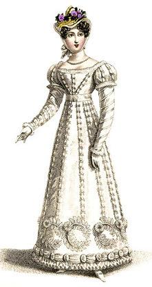 Antique Dress | 1820s Dress | Jane Austen's Era Attire | Scoop.it
