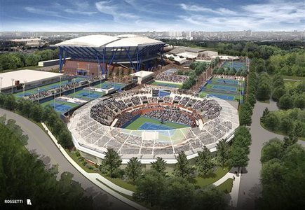 US Open stadium to have roof by 2017 tourney - Post-Bulletin | Sports Facility Management 4202679 | Scoop.it