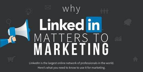 Infographic: A Marketer's Guide to Posting on LinkedIn   brand   Scoop.it