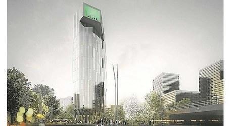 Agriculture urbaine, bâtiment à énergie positive, gare souterraine, vitrine numérique... Quatre projets futuristes | Villes | Scoop.it