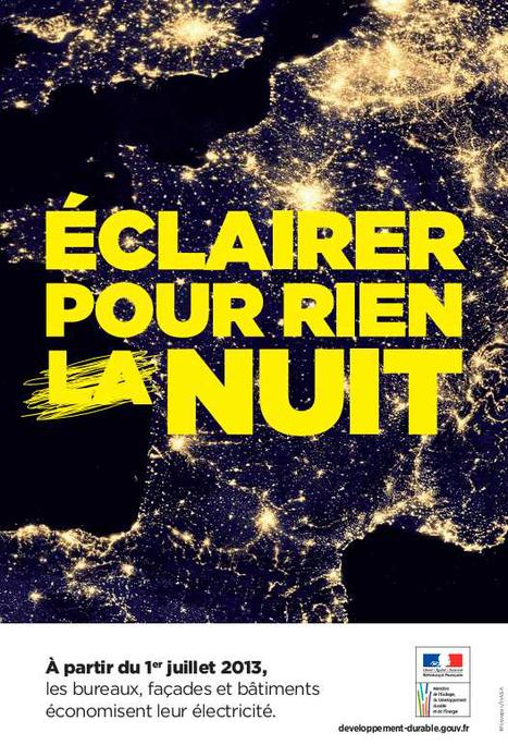 Application de l'arrêté d'extinction de l'éclairage nocturne au 1er juillet | Greenov - Bâtiment & énergie | Scoop.it