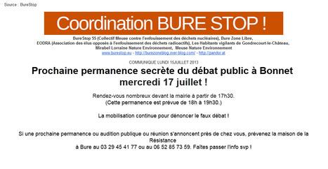 BURE ZONE LIBRE  : Appel à Mobilisation | Le Côté Obscur du Nucléaire Français | Scoop.it