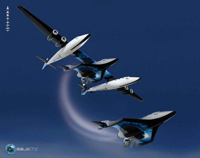 Virgin Galactic Aims For The World's First Commercial Spaceflight ... | More Commercial Space News | Scoop.it