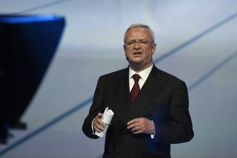 "Martin Winterkorn Resigns as Volkswagen's CEO Amid a Scandal Over Emissions | ""green business"" 