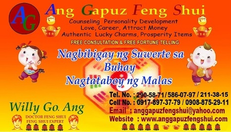 ANGGAPUZ FENG SHUI MASTER WILLY GO ANG FREE CONSULTATION   PHILIPPINE FENG SHUI MR. ANG OFFER FREE CONSULTATION   Scoop.it