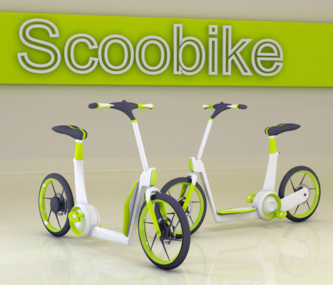 Scoobike - Urban Scooter/Bike by Ardhyaska Amy | designdrool | Scoop.it