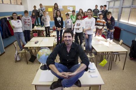 Así da clase el candidato español al 'Nobel' de los profesores   Aprendizajes 2.0   Scoop.it