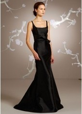 Trumpet Mermaid Square Court Train Black Bridesmaid Dress Bbjh0057 for $370 | 2014 landybridal wedding party dresses | Scoop.it