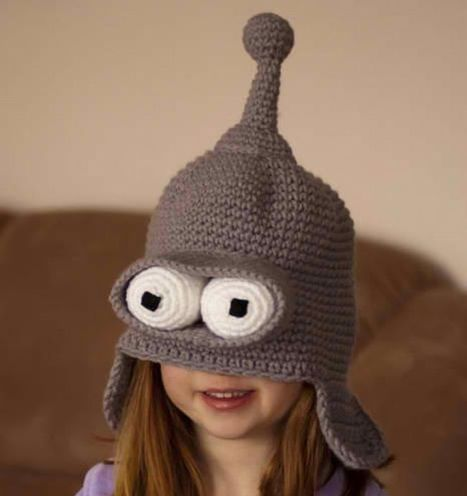 Bender From Futurama Becomes Wearable | All Geeks | Scoop.it