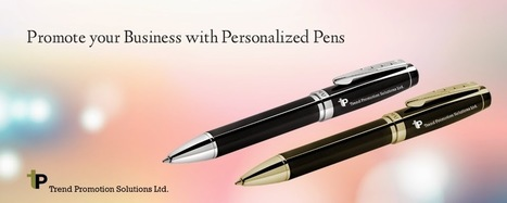 4 Occasions to Reward Staff with Personalized Pens | Trend Promotion Solutions Ltd. | Scoop.it
