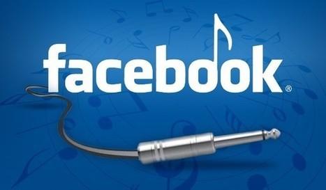 Le Top 5 des appli musique sur Facebook: Spotify leader | Ziknum | Scoop.it