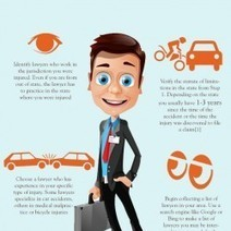 How to Choose Personal Injury Lawyer | Visual.ly | Personal Injury Infographics | Scoop.it