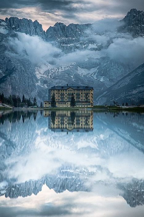 Lake House - Lake Misurina, Italy | Reflejos | Scoop.it