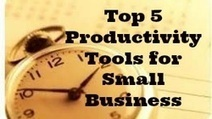 Top 5 Productivity Tools for Small Business | Small Business | Scoop.it