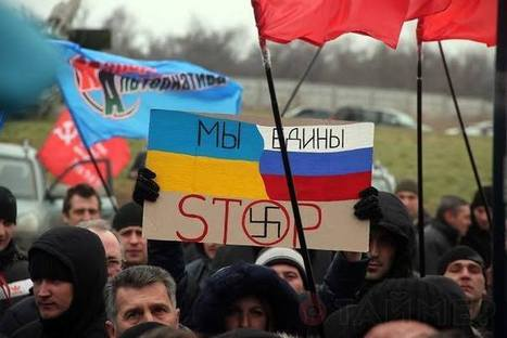 No new U.S. war! Stop media lies about Ukraine | Facebook | Lies About Ukraine | Scoop.it