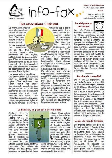 Lilavie : 4 journaux au service des publics en difficulté de lecture | Malentendants Sourds | Scoop.it