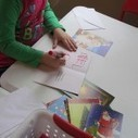 Christmas cards in the writing center in preschool   Teach Preschool   Scoop.it