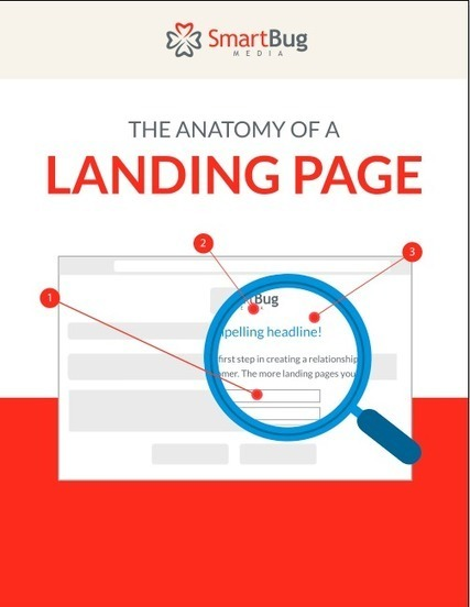 The Anatomy of a Landing Page [INFOGRAPHIC] | World of #SEO, #SMM, #ContentMarketing, #DigitalMarketing | Scoop.it