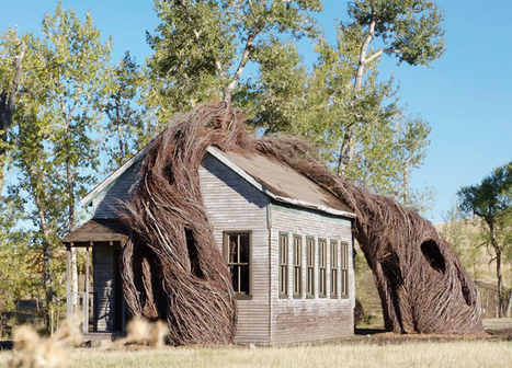 Patrick Dougherty weaves daydreams from willow trees at Tippet Rise, Montana | D_sign | Scoop.it