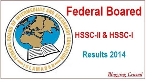 FBISE HSSC Part-II Result 2014 | Blogging Crazed | Scoop.it