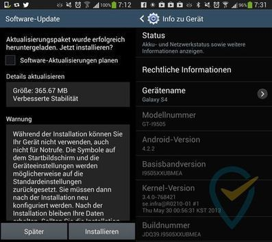 Samsung GALAXY S4 Firmware Update available   Smartphone News By Sachin Shelke   Scoop.it