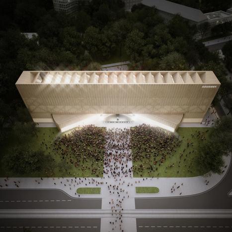 penda's bauhaus museum proposal features rotating volumes   Clic France   Scoop.it