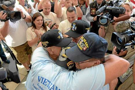 Naples, FL Resident reunites for first time in 44 years with Vietnam Brothers | Millitary Matters | Scoop.it