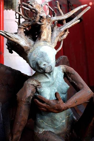 GroundUp: Hout Bay's scrapyard sculptors | Virology News | Scoop.it