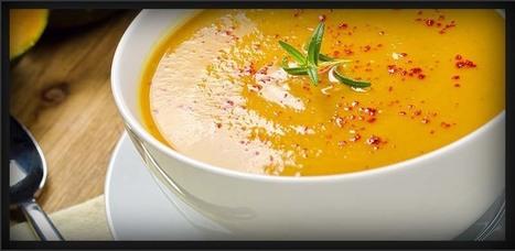 Hearty Pumpkin Garlic Soup   Amazing Soup Recipes   Scoop.it