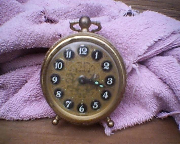 Vintage West Germany Wind Up Alarm Clock | Antiques & Vintage Collectibles | Scoop.it