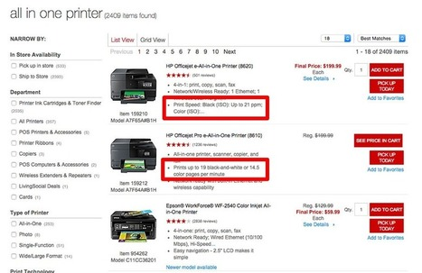 Product Filters: 9 Best Practices for Ecommerce Sites #websitedesign | WebsiteDesign | Scoop.it